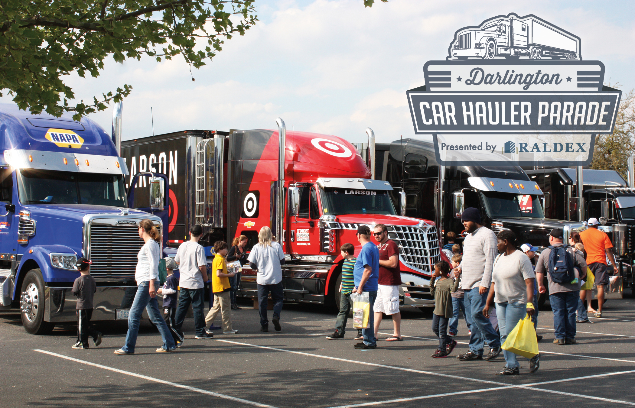 Darlington Car Hauler Parade and Festival Zooms Back August