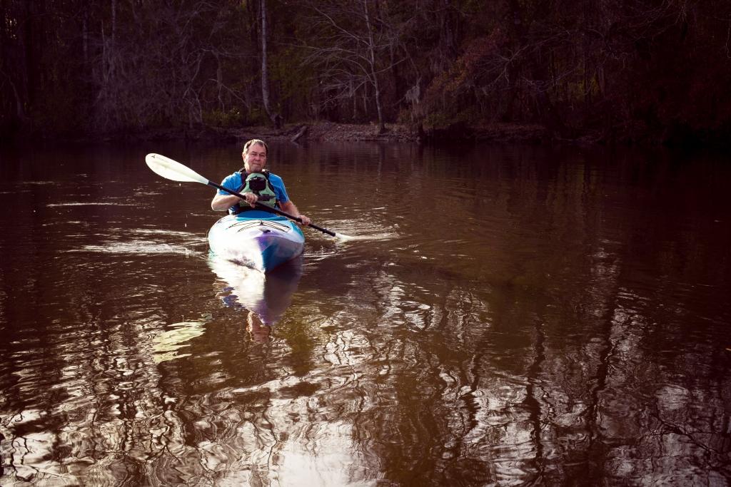 Kayaking in Florence, SC