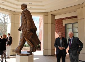 Doug Smith Statue by Alex Palkovich