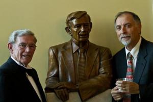 Senator Leatherman Bust by Alex Palkovich