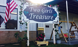 Two Girls Treasure