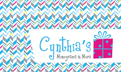 Cynthia's Monograms & More